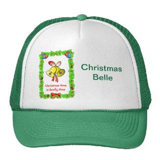 Christmas bells cap