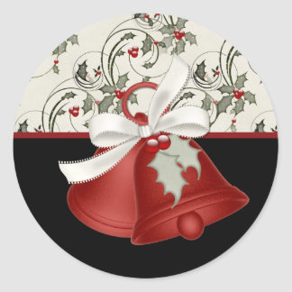 Christmas Bells Design 2 - Christmas Stickers