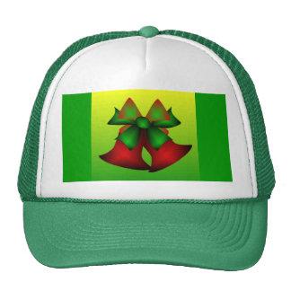 Christmas Bells I In Green Mesh Hat
