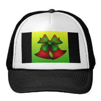 Christmas Bells III In Black Mesh Hats