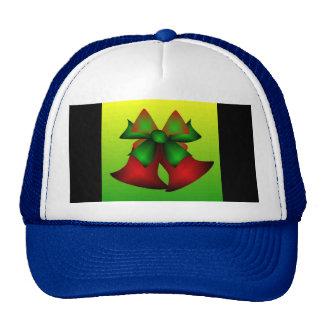 Christmas Bells III In Blue Hats