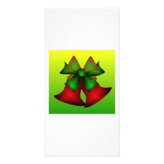Christmas Bells III Photo Card