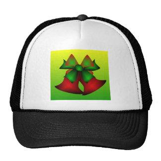 Christmas Bells In Black Trucker Hats