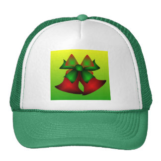 Christmas Bells In Green Hat