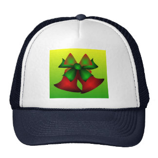 Christmas Bells In Navy Trucker Hat