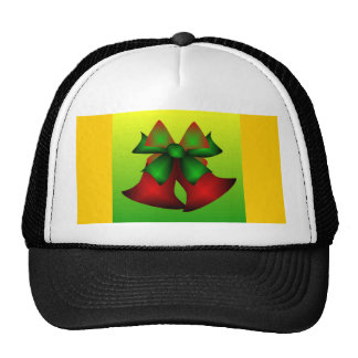 Christmas Bells IV In Black Trucker Hats