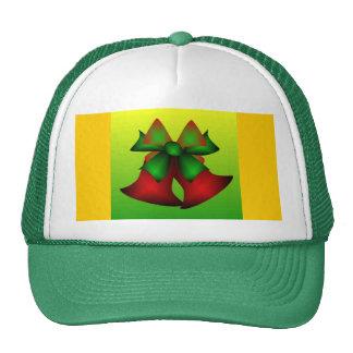 Christmas Bells IV In Green Mesh Hat
