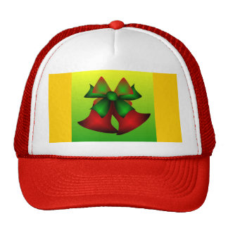 Christmas Bells IV In Red Trucker Hat