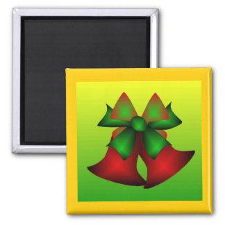 Christmas Bells IV Refrigerator Magnet