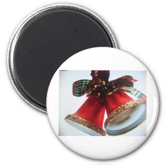 christmas bells fridge magnets