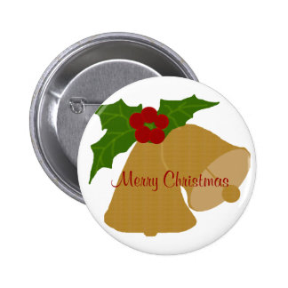 Christmas bells, Merry Christmas button