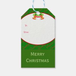 Christmas bells Merry Christmas Gift Tags