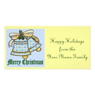 Christmas Bells Photo Card