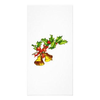 Christmas Bells Customized Photo Card