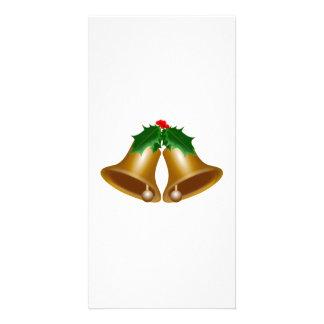 Christmas Bells Photo Greeting Card