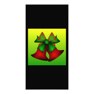 Christmas Bells Picture Card