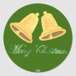 Christmas Bells Stickers (Gold)