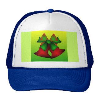 Christmas Bells V In Blue Trucker Hats