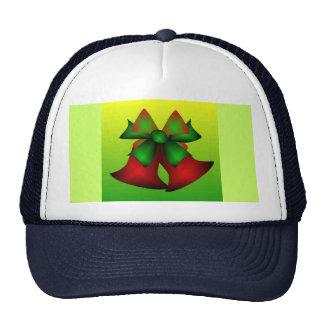 Christmas Bells V In Navy Mesh Hat