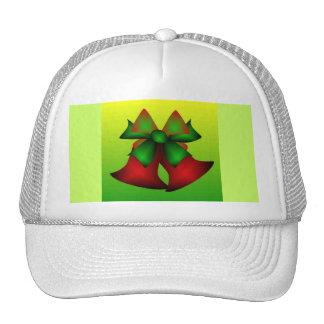 Christmas Bells V In White Mesh Hat