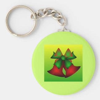 Christmas Bells V Key Chain