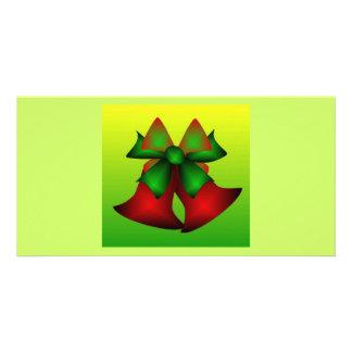 Christmas Bells V Photo Cards