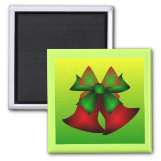 Christmas Bells V Refrigerator Magnets