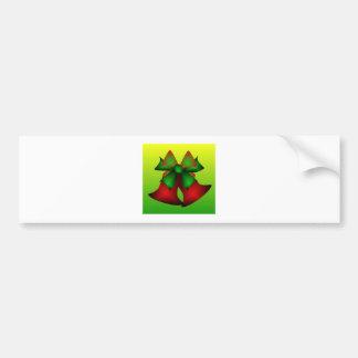 Christmas Bells VI Bumper Sticker
