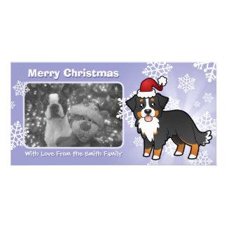 Christmas Bernese Mountain Dog Card
