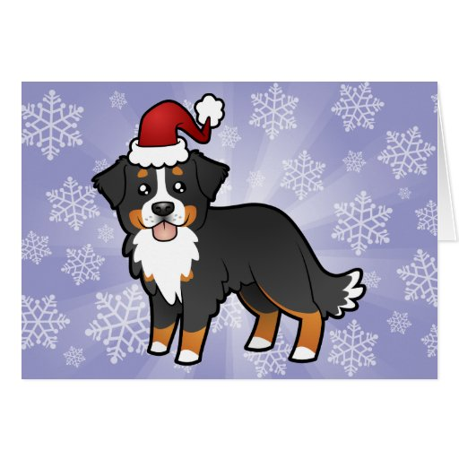 Bernese Mountain Dog Christmas Cards Uk