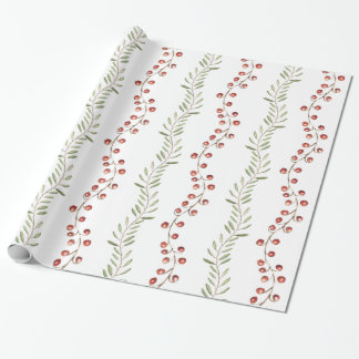 Christmas Berry & Vines | Gift Wrap