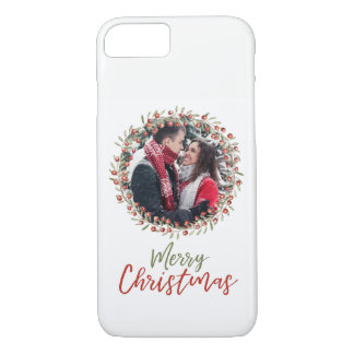 Christmas Berry Wreath | Phone Case