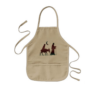 Christmas Bethlehem Art Kids Apron