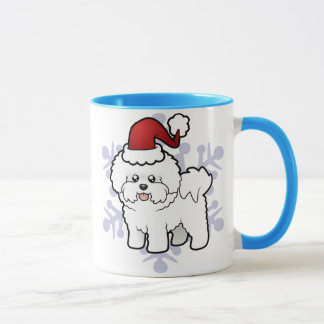 Christmas Bichon Frise Mug