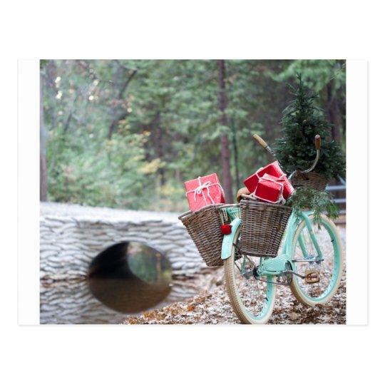 Christmas Bicycle #2 Postcard