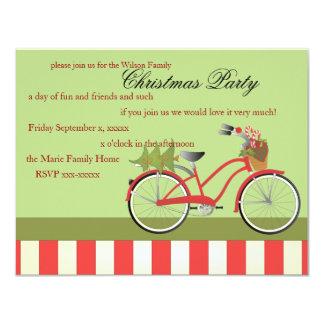 Christmas Bicycle Card