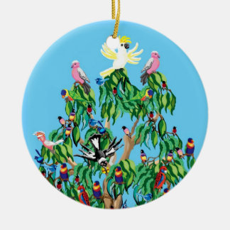 Christmas birds in Australia Christmas Ornament