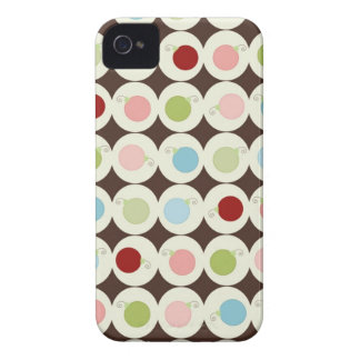 Christmas BlackBerry Bold Barely There™ Case Mate iPhone 4 Cover