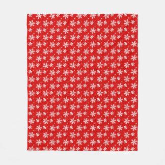 Christmas Blanket Holiday Snowflake Fleece Blanket