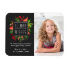 Christmas Blessing Happy Holiday Family Kids Photo Magnet