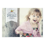 Christmas Blessings | Holiday Photo Card Custom Invites