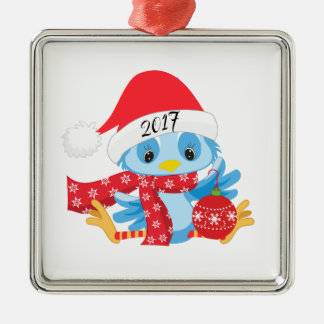 Christmas Blue Bird ornamament Christmas Ornament