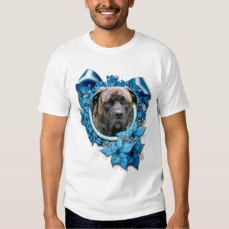 Christmas - Blue Snowflake - Mastiff - Cyclone Shirts