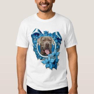 Christmas - Blue Snowflake - Mastiff - Snoop Tshirt