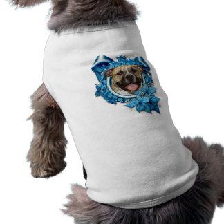 Christmas - Blue Snowflake - Pitbull - Tigger Dog Clothing