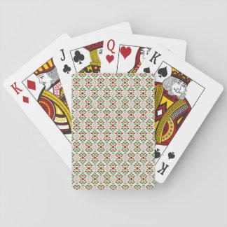 Christmas boho Playing Cards