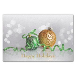 Christmas Bokeh Christmas Balls Tissue Paper