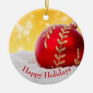 Christmas Bokeh Snow Christmas Ball Christmas Ornament