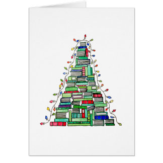 Christmas Book Tree 2017 Card