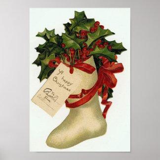 Christmas Boot Print